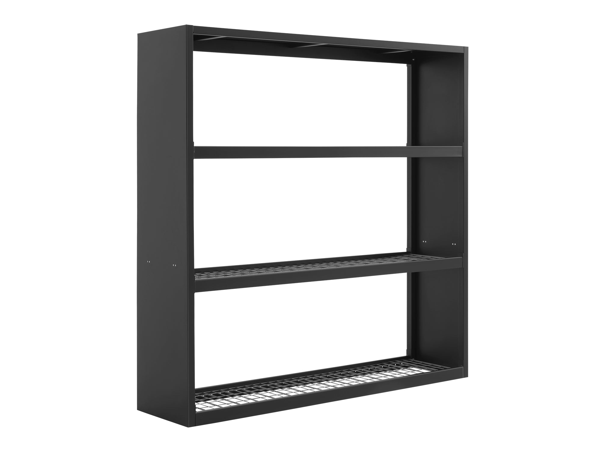 Bold Series 72 in. Wall Mounted Rack - Black