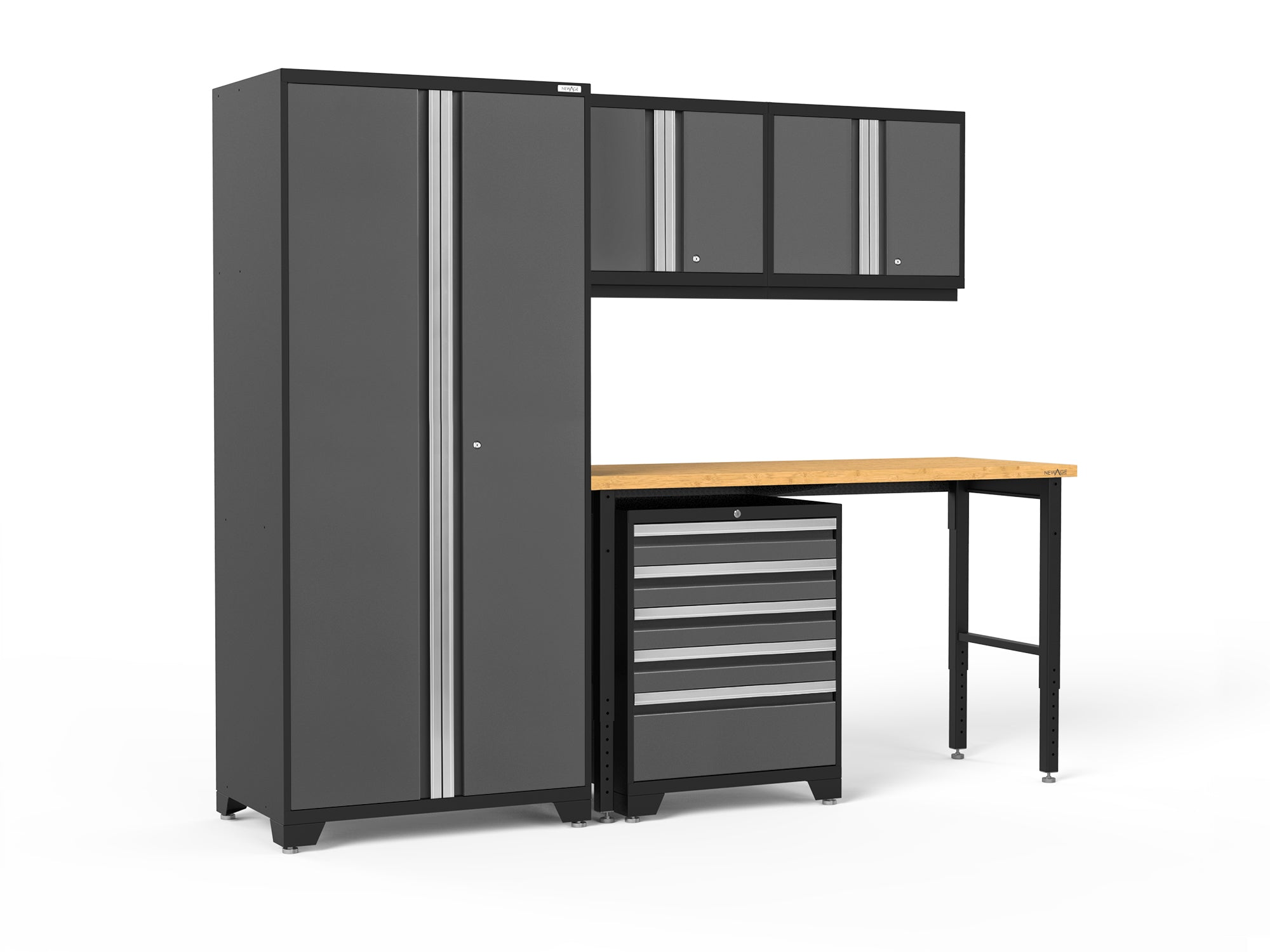 Pro Series 5 Piece Cabinet Set