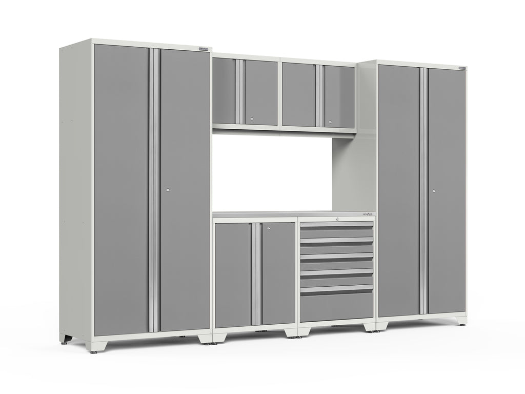 Pro Series 7 Piece Cabinet Set Newage Products