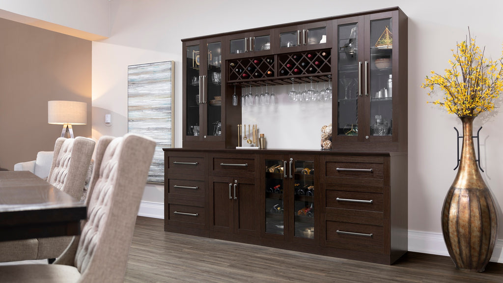 Home Bar Split Cabinet - 24""