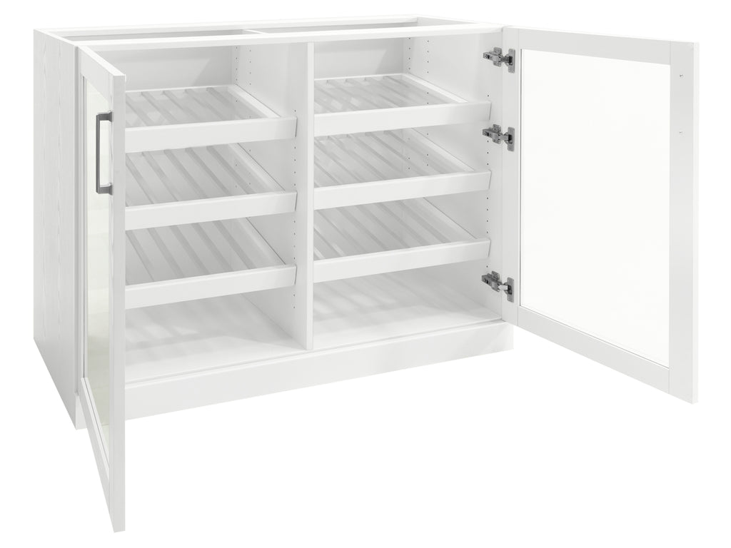 Home Bar Double Wide Display Cabinet - 42""