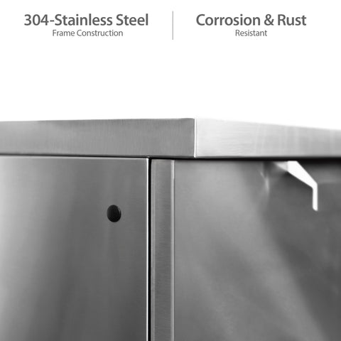 Classic Stainless Steel / No Covers or Countertops