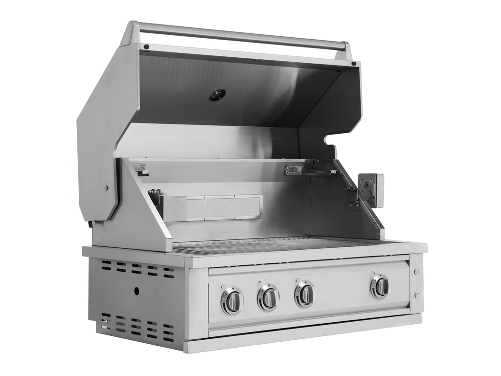 "Outdoor Kitchen Stainless Steel 33"" Insert Grill"