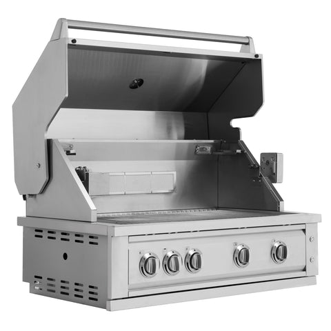 "Outdoor Kitchen Stainless Steel 40"" Insert Grill"