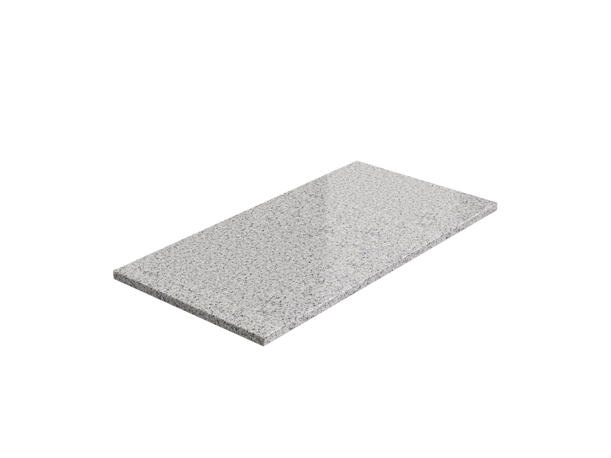 Kitchen Granite Countertop (1 x 48 in. Extended, 1 x 24 in. Extended)