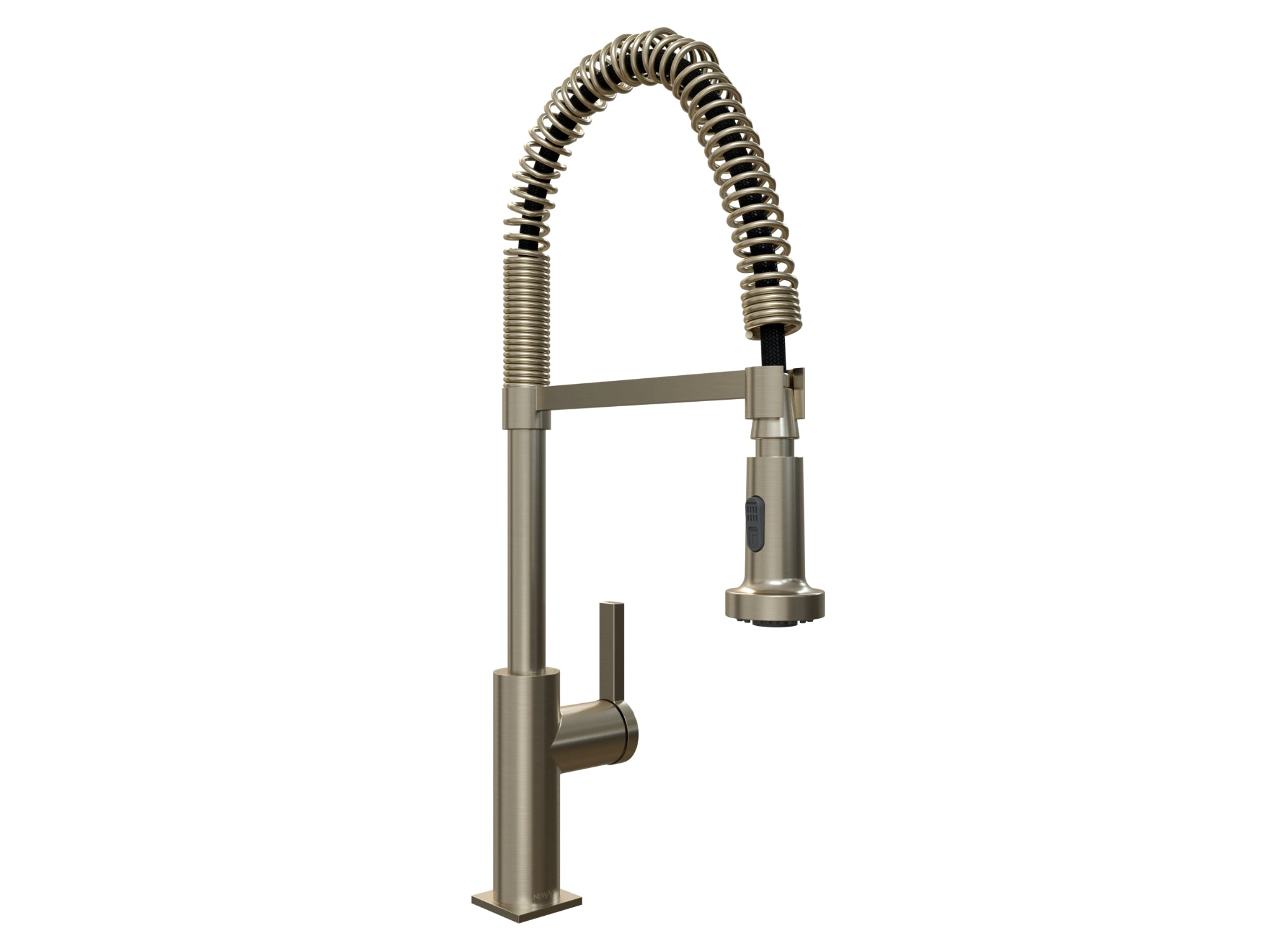 Coiled Pull-Down Faucet