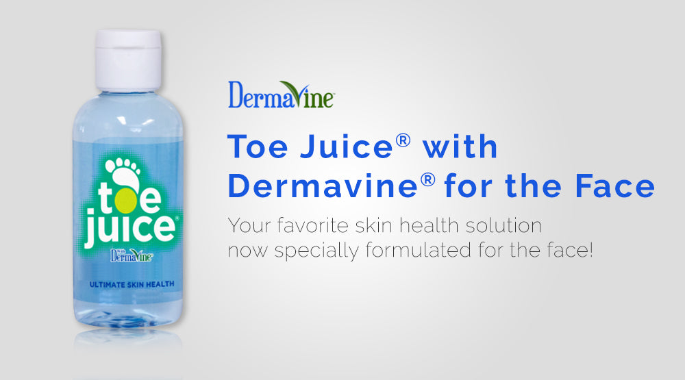 Toe Juice® with Dermavine® for the Face