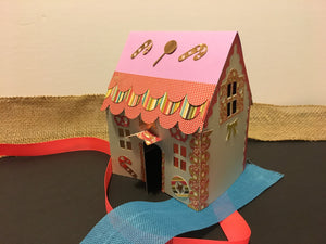 Gingerbread House - craft for kids
