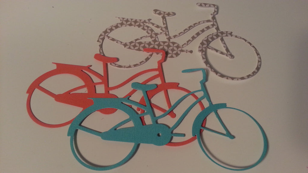 90 Die cut - bicycle