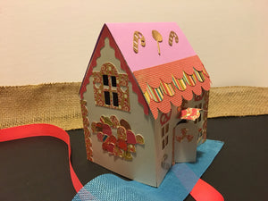 Gingerbread House - craft for kids digital