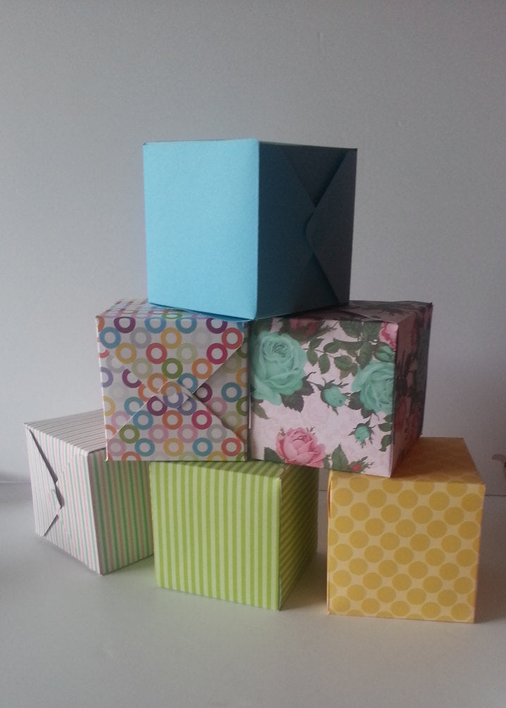 6 Colorful Boxes