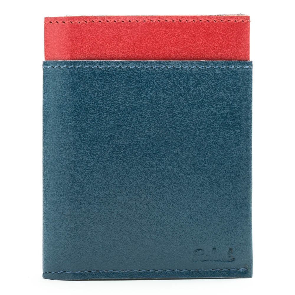 BIFOLD BLUE & RED