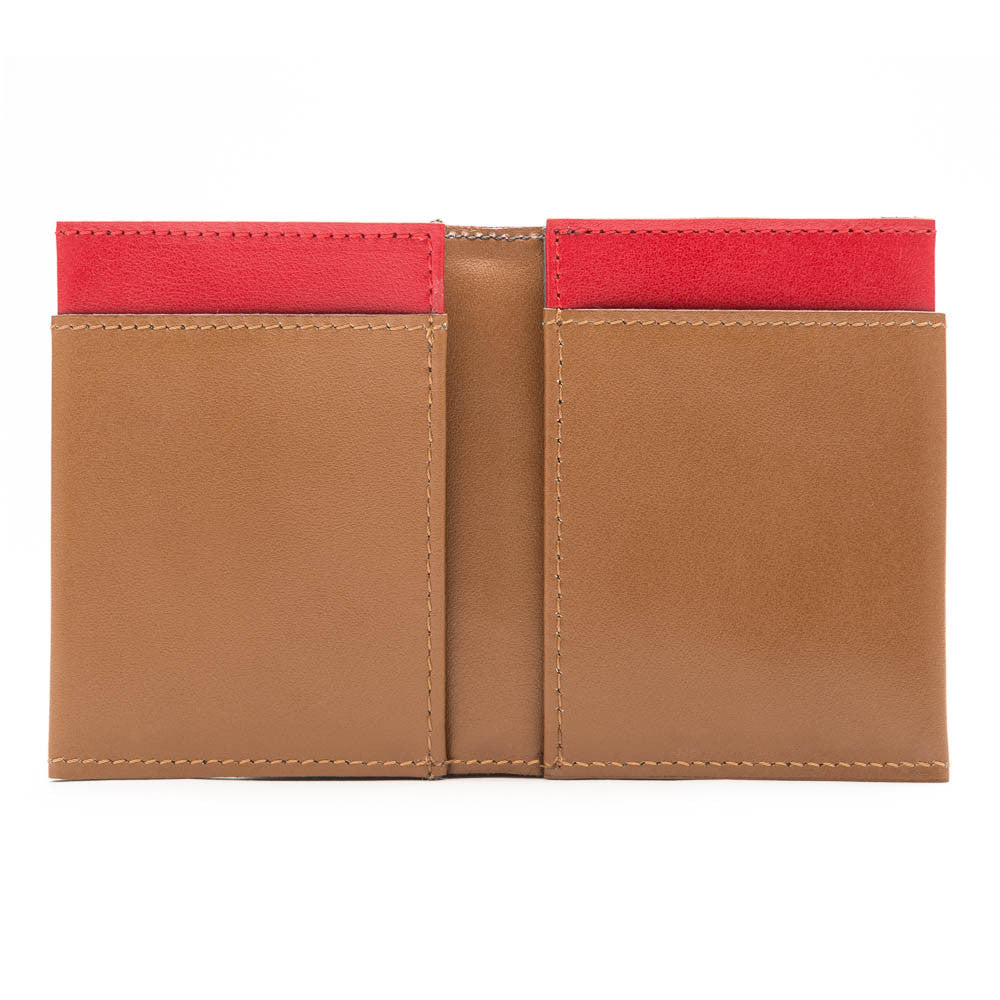 BIFOLD BROWN & RED