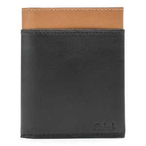 BIFOLD BLACK & BROWN