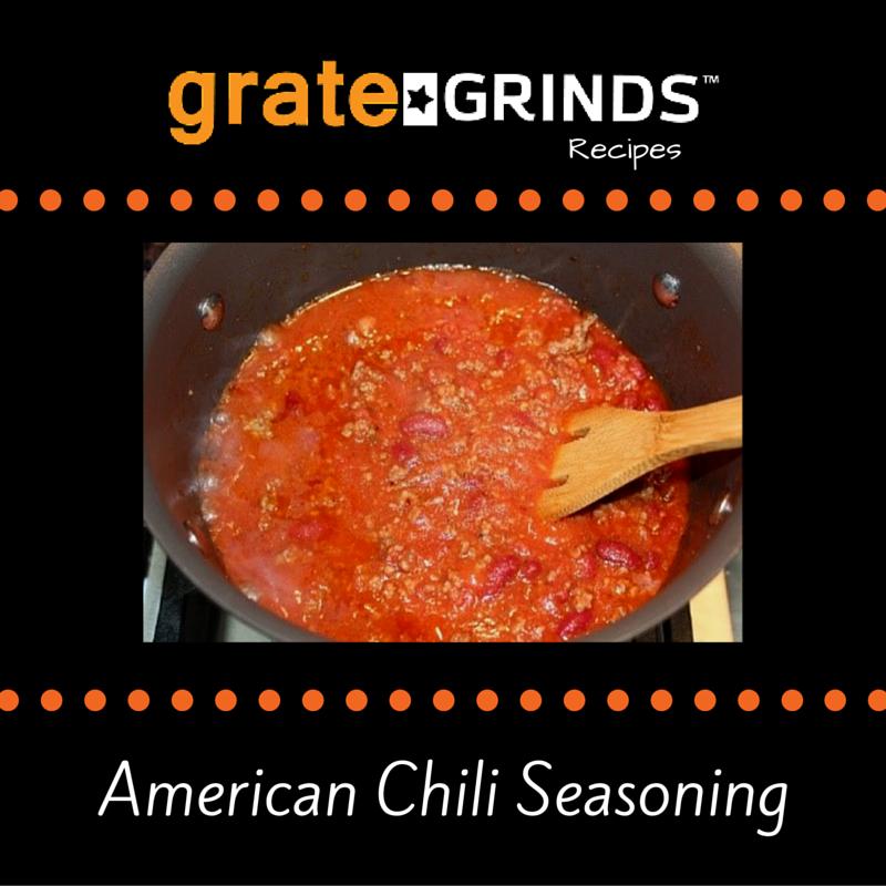 Cooking with Grate Grinds American Chili Seasoning