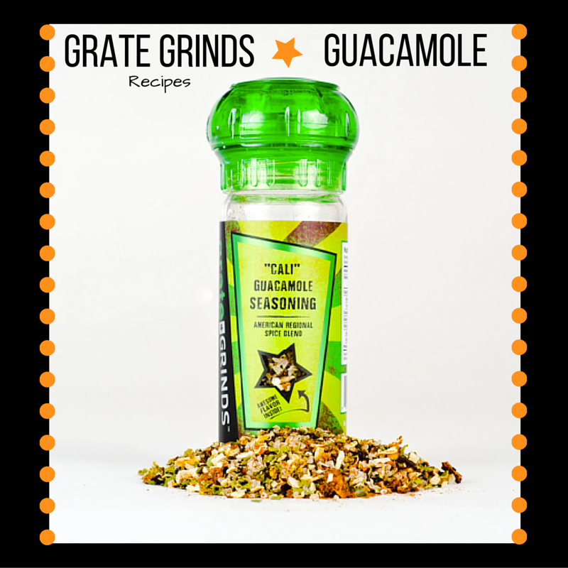 Grate Grinds Guacamole Recipe