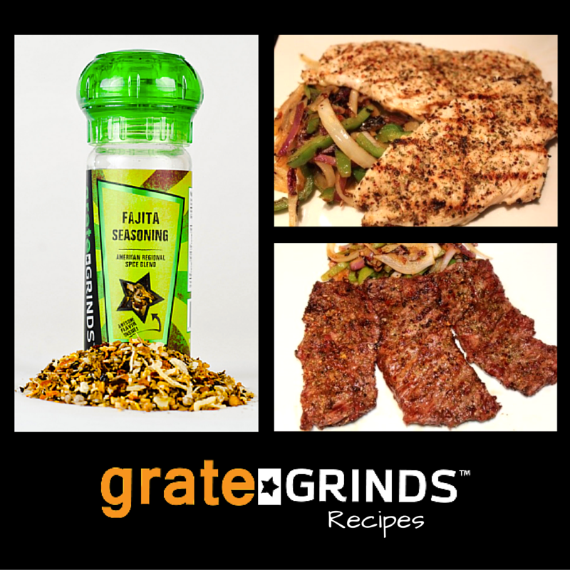 Cooking With Grate Grinds Fajita Seasoning