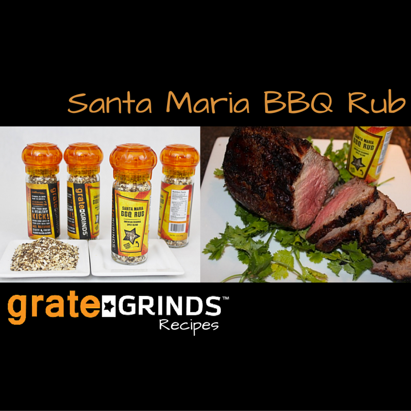 Grate Grinds Santa Maria BBQ Rub Recipe