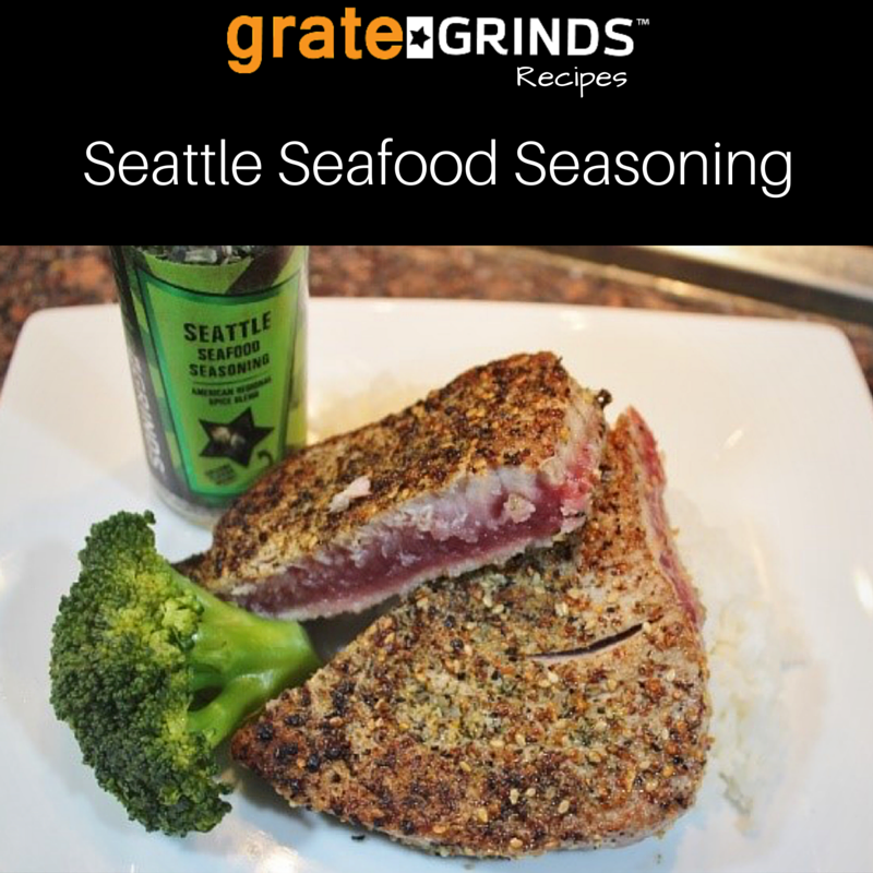 Grate Grinds Seattle Seafood Seasoning