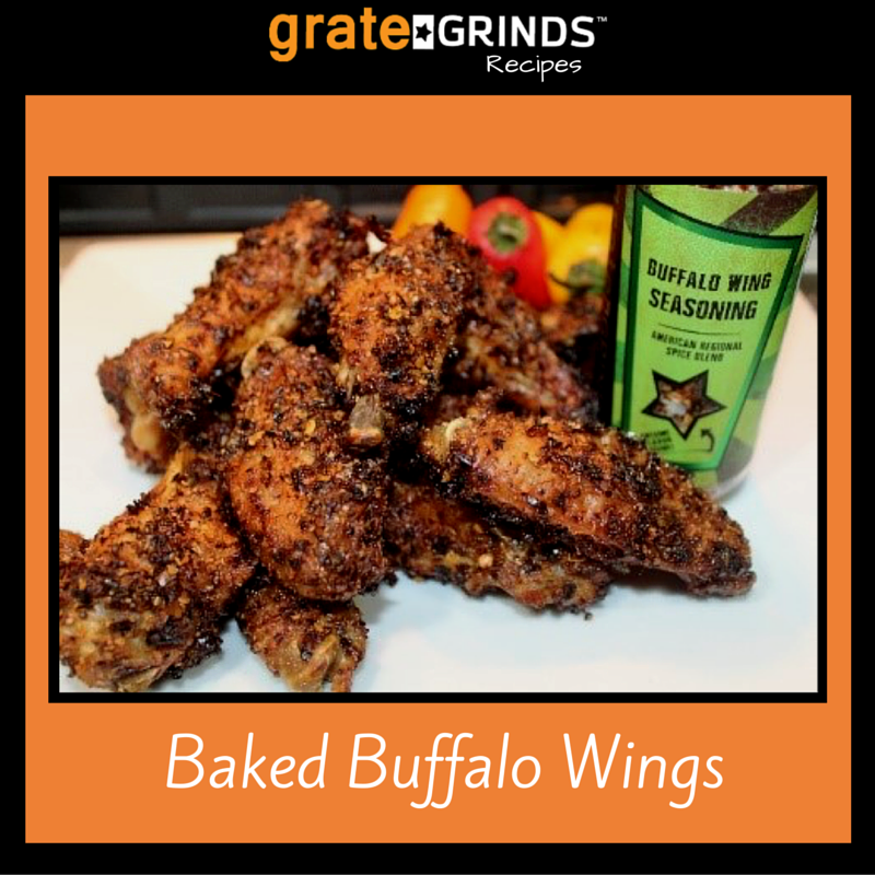 Grate Grinds Baked Buffalo Wings