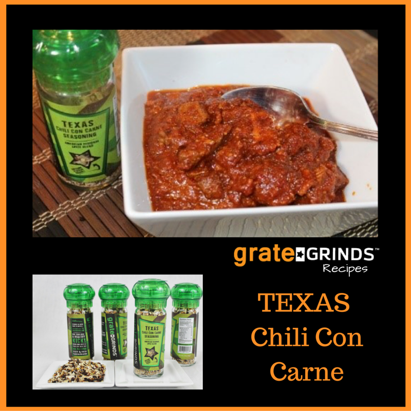 Grate Grinds Texas Chili Con Carne Seasoning
