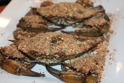 Raw Blue Crabs with Maryland Seafood Seasoning