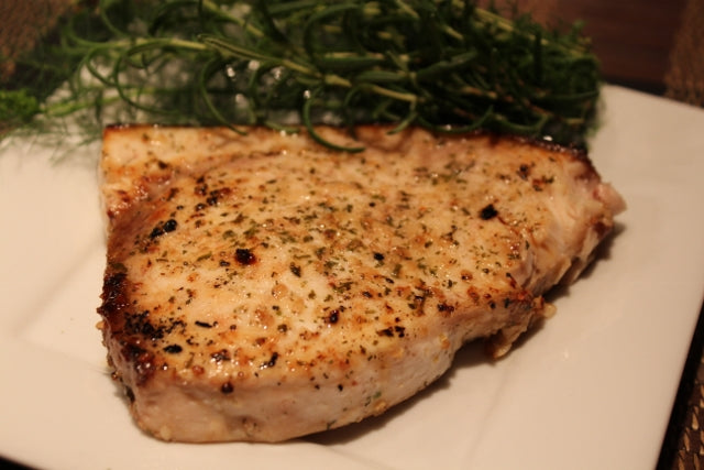 Roast Swordfish with Lemon Garlic Dill Seasoning