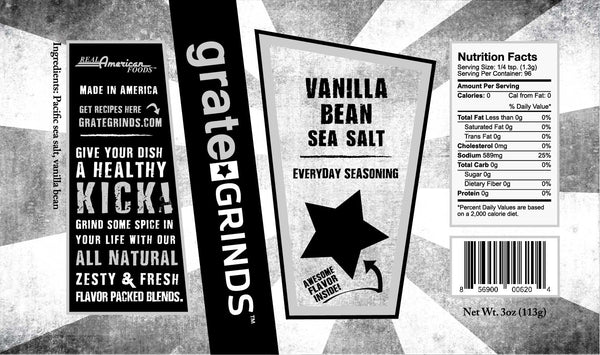 Vanilla Bean Sea Salt