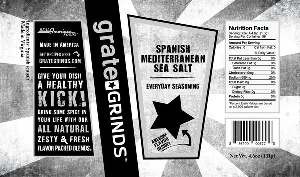 Spanish Mediterranean Sea Salt