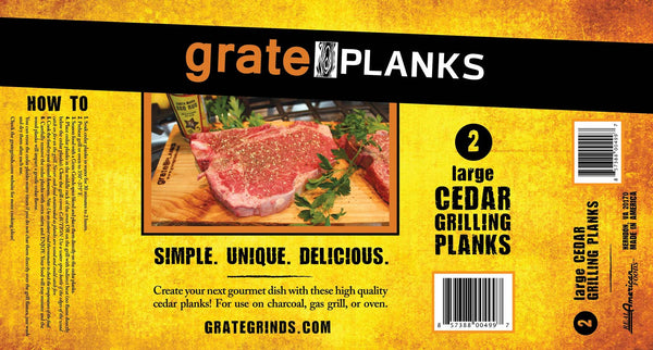 Large Grate Planks
