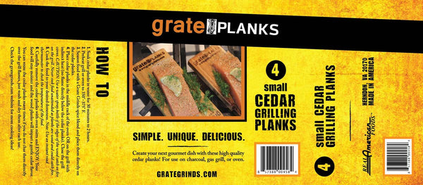 Small Grate Planks