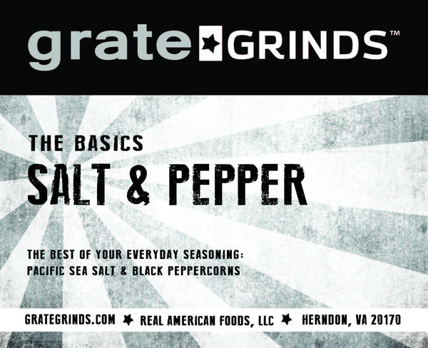 The Basics - Salt & Pepper Collection