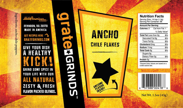 Ancho Chile Flakes