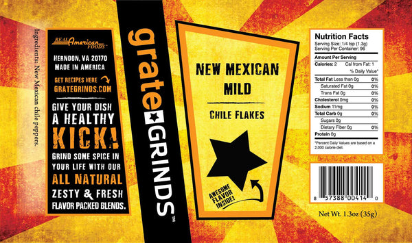 New Mexican Mild Chile Flakes