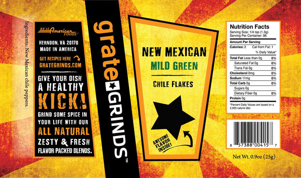 New Mexican Green Chile Flakes