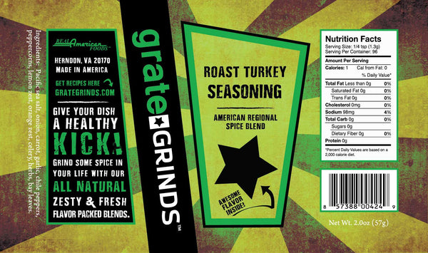 Roast Turkey Seasoning