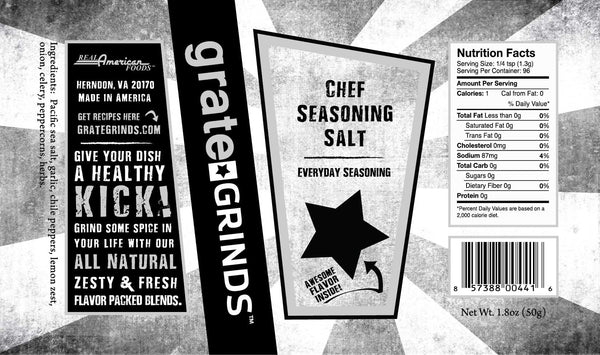 Chef Seasoning Salt