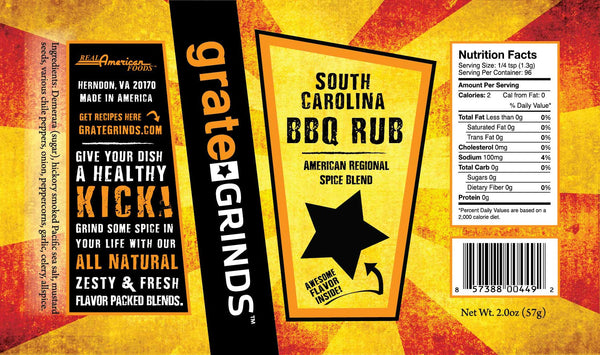 South Carolina BBQ Rub