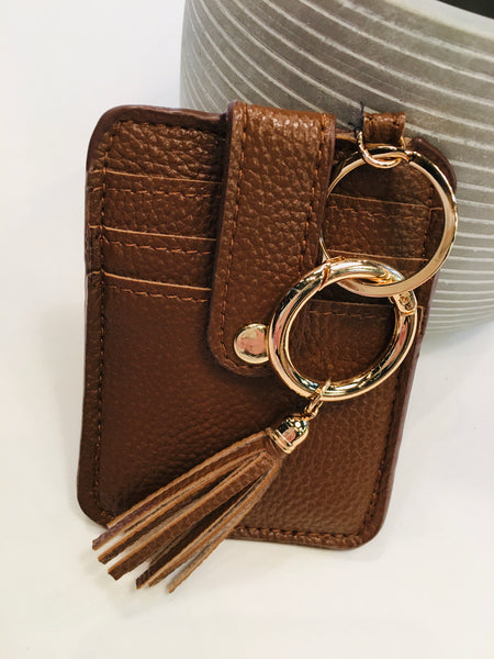 Keychain Card Holder