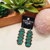 The Chunky Turquoise Earrings