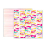 Pink Paislee - Summer Lights 12x12 Paper Pack, 12 sheets