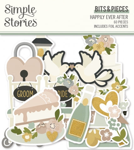 Simple Stories - Happily Ever After Bits & Pieces (Wedding)