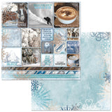 Bo Bunny - Whiteout 12x12 Paper Pack (12 sheets)