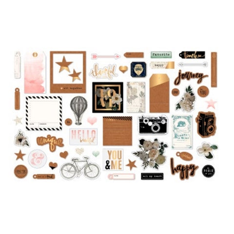 Heidi Swapp - Magnolia Jane Collection Ephemera Die Cuts