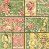 Graphic 45 - Garden Goddess 12x12 Collection Pack