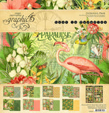 Graphic 45 - Lost in Paradise 12x12 Collection Kit