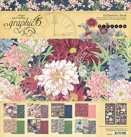 Graphic 45 - Blossom 12x12 Collection Pack