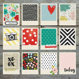 Simple Stories - Life In Color 12x12 #5007 Here & Now Cardstock (Retired)