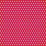 Simple Stories - 12x12 RED Chevron and Dots Single Sheets