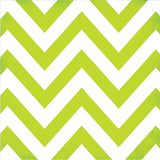 Simple Stories - 12x12 GREEN Chevron and Dots Single Sheets